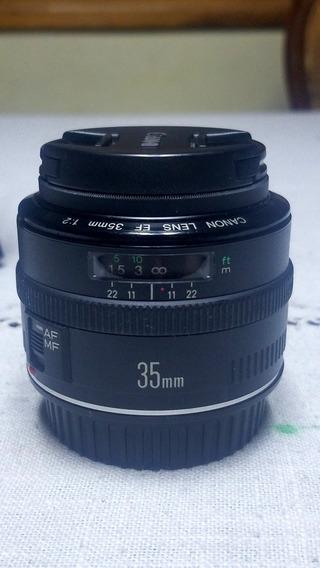 Lente Canon 35mm 2.0 Para Full Frame