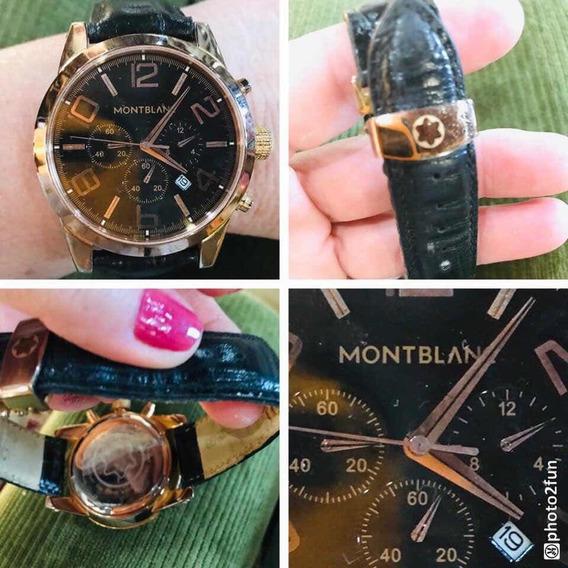 Relógio Montblanc Dourado