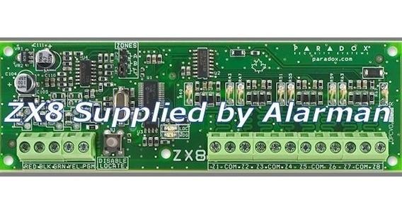 Modulo Expansor Zx8 Alarm3 Paradox