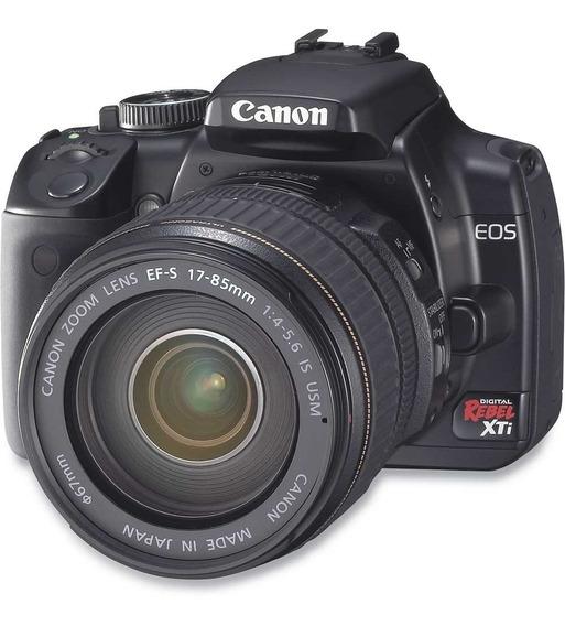 Câmera Canon Xti + Lente 18-55 + Carregador Ótimo Estado