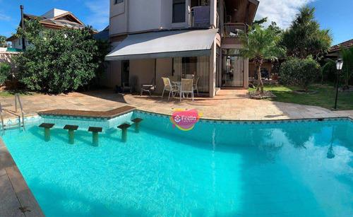 Imagem 1 de 30 de Casa Com 5 Dormitórios À Venda, 420 M² Por R$ 2.400.000,00 - Lagoa Da Conceição - Florianópolis/sc - Sc - Ca0039_feelin
