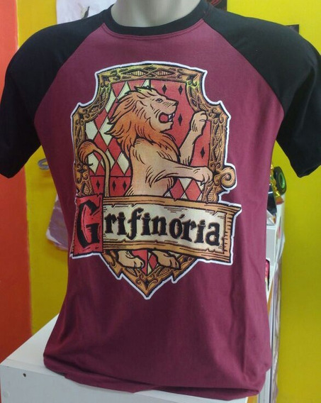 Camiseta Grifinoria Harry Potter Camisa