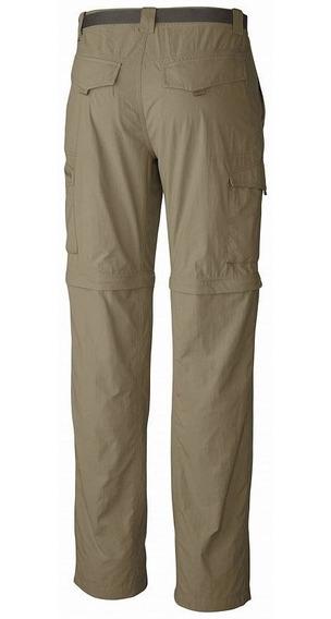 Pantalon Desmontable Columbia Cargo Silver Ridge Hombre
