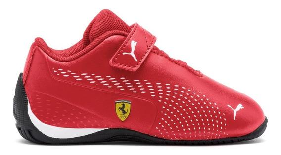 Tenis Scuderia Ferrari Drift Cat 5 Niño 03 Puma 306463