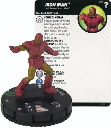 Heroclix - Iron Man #015 - What If? - Marvel