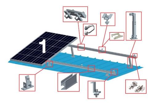 Kit Soporte Montaje 1 Panel Solar Antaisolar 10-15