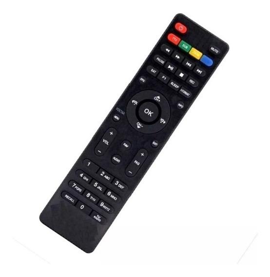 2 Unidades Controle Tv Remoto Ci-ne Linha Box Pronta Entrega
