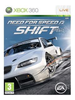 Need For Speed Shift Xbox 360 Nuevo Fisico Sellado