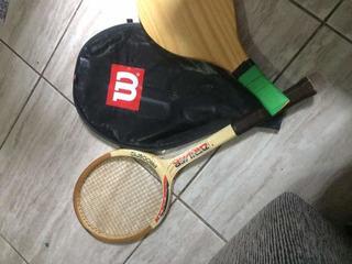 Raquete De Tênis E Frescobol