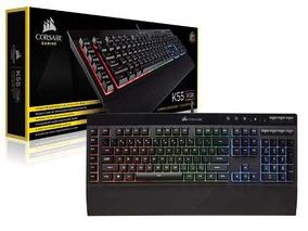 Teclado Gamer Corsair Ch-9206015-br K55 A!