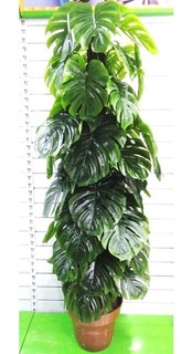 Planta Artificial Realista 1.75 Alto Hoja Monstera 280-6