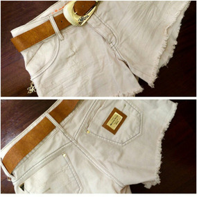 Shorts Sarja -morena Rosa Original
