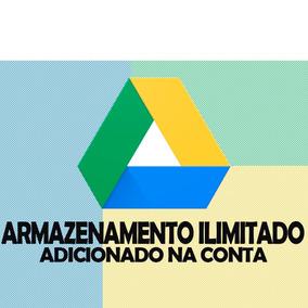 Google Drive Ilimitado- Use Sua Conta Do Google Já Existente