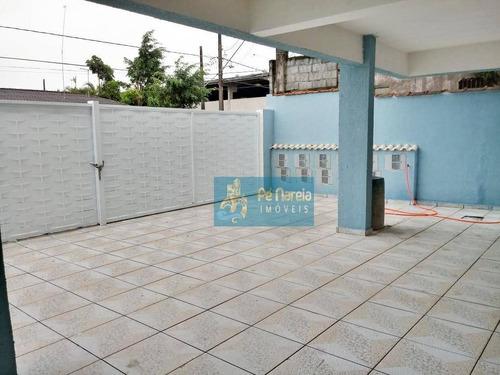 Sobrado Com 2 Dormitórios À Venda Por R$ 169.000,00 - Jardim Glória - Praia Grande/sp - So0011