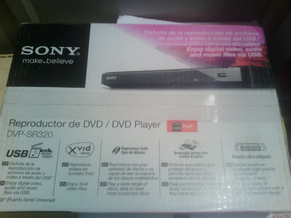 Dvd Sony Modelo Dvp-sp320