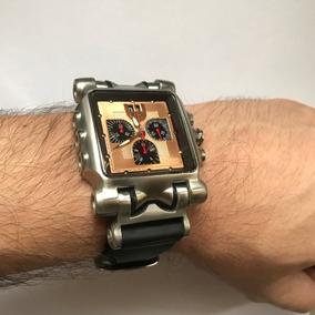 Relógio Original Oakley Time Tank Minute Machine Mm Titânio