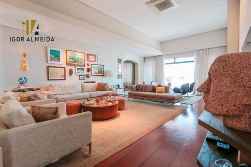 Cobertura Com 4 Dormitórios, 675 M² - Venda Por R$ 5.860.000,00 Ou Aluguel Por R$ 30.000,00 - Higienópolis - São Paulo/sp - Co0146