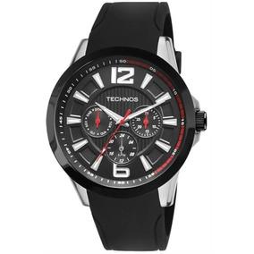 Relógio Technos Masculino Com Calendário Aço Inox 6p29ahc/8p