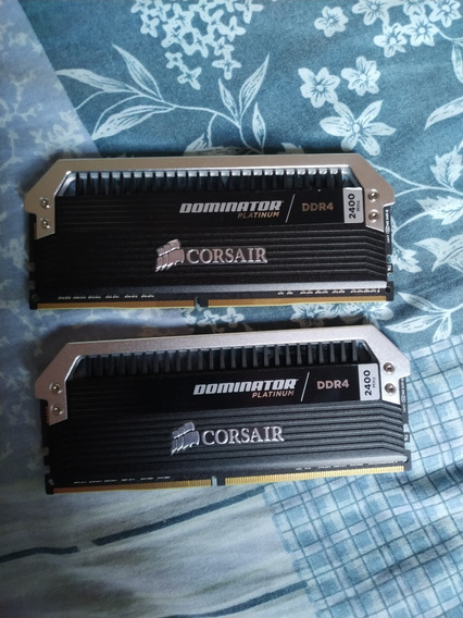 Ddr4 Corsair Dominator Platinum 16gb (2x8gb) 2400mhz Cl 10
