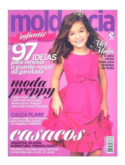 Revista Moda Infantil Molde & Cia 97 Idéias Com Molde - Nova