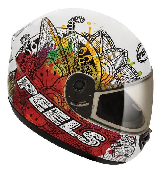 Capacete para moto integral Peels Spike Indie branco M