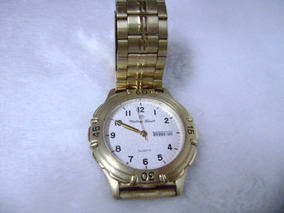Excelente Relógio De Pulso Mathey Tissot Chapeado A Ouro