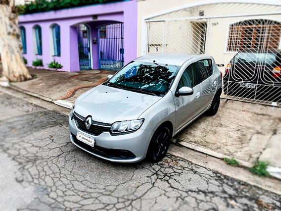Renault Sandero Expression 1.6 16v (flex) 2018 - Completo
