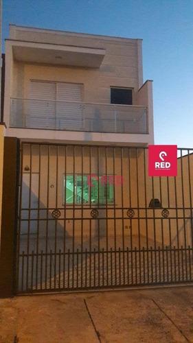Sobrado Com 3 Dormitórios À Venda, 142 M² Por R$ 425.000,00 - Central Parque Sorocaba - Sorocaba/sp - So0048