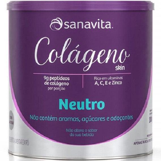 Colágeno Hidrolisado Skin 300g - Sanavita