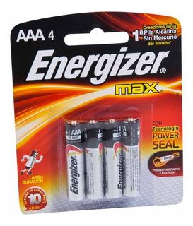 Pila Fina Energizer Aaa Blister X 4 Unidades