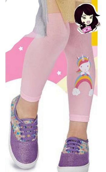 Pantimalla / Leggings Unicornio Para Niña