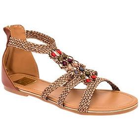Sandalia Huarache Zapato Camel Sc84384