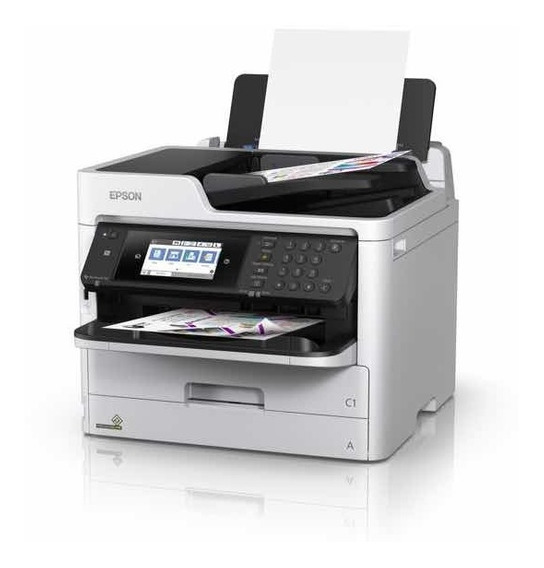 Impressora Mfp Epson Wf-c5790 A4 Workforce Pro Wifi
