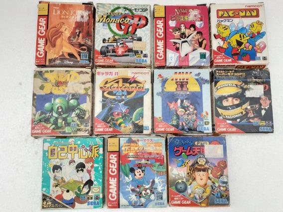 Game Gear 11 Jogos Originais Completos Frete Gratis 12x S/j