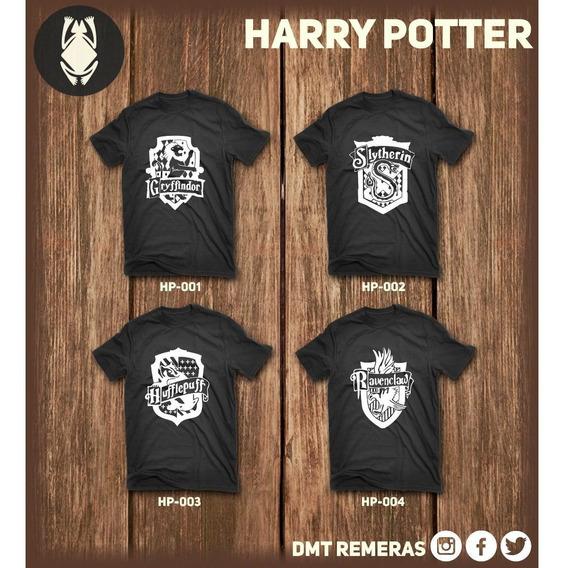 Remeras Harry Potter - Estampadas Con Vinilo Importado