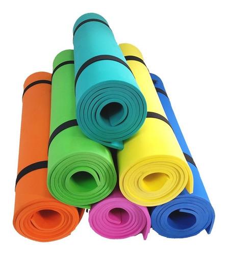 Kit Colchoneta Goma Eva 160x57cm X6mm X 10 U. Yoga, Pilates