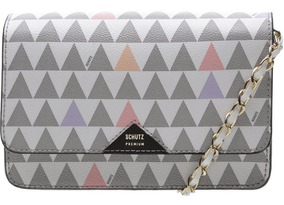Crossbody 4 Girls Triangle Pearl. Bolsa Schutz Original