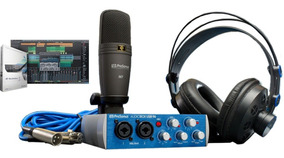 Kit Home Studio Presonus Audiobox Usb 96 Studio - Nf E Gtia