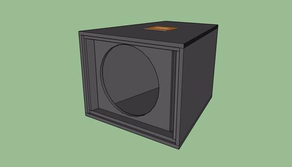 Projeto Original Caixa De Sub Graves Meia Sb 18 Jbl