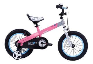 Bicicleta Infantil Royal Baby Aluminio Nueva Buttons R14