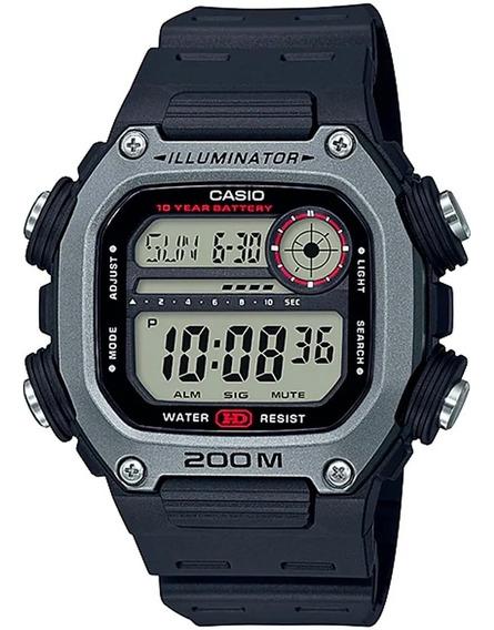 Relógio Masculino Digital Casio Dw-291h-1avdf - Prata