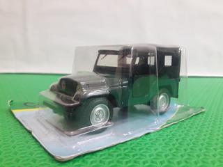 Miniatura Carro Carrinho Jeep Willys Jornal Extra Carros