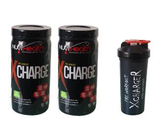Kit 2x Pré Treino Monstro - X-charge Nutrihealth Suplementos