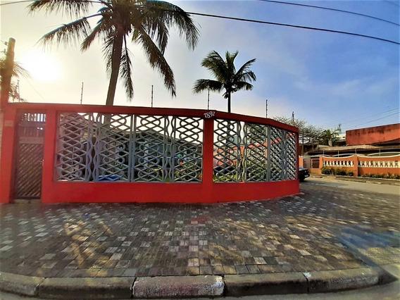 Casa Pé Na Areia Em Mongaguá!! Ref. Ca0090