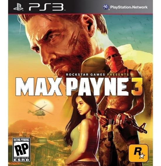 Max Payne 3 + Midnight Club La Play 3 Codigo Psn !!