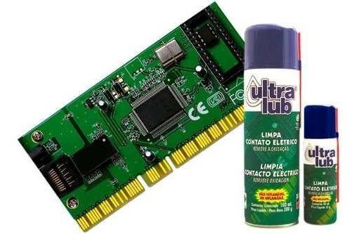Limpa Contato Eletrico Spray P/ Eletronicos Ultralub 160 Ml