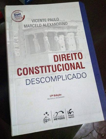 Livro Direito Constitucional Descomplicado - 17a Edição