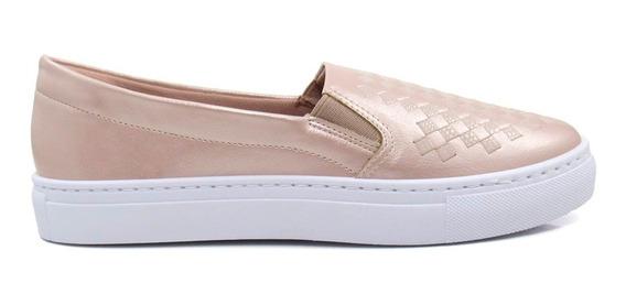 Tênis Slip On Feminino Olfer Shoes 1270-021