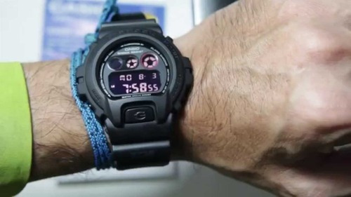 Relógio Casio G-shock Dw-6900ms-1dr + Nfe + Garantia