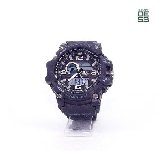 Oe53 Reloj Deportivo Resistente Al Agua Cronometro Skmei 1283 50m